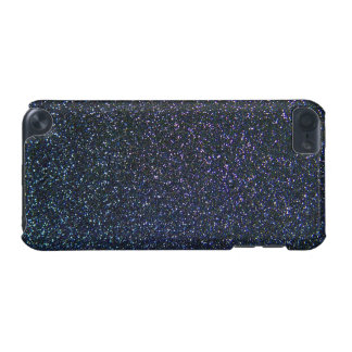 Multicolour Glitter Effect in blue and purple iPod Touch 5G Case