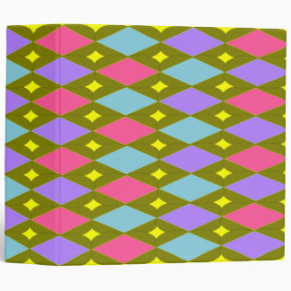 Multicolour Honeycomb Create your own Avery Binder