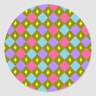 Multicolour Honeycomb Create your own Sticker
