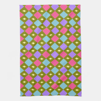 Multicolour Honeycomb You Create Kitchen Towel