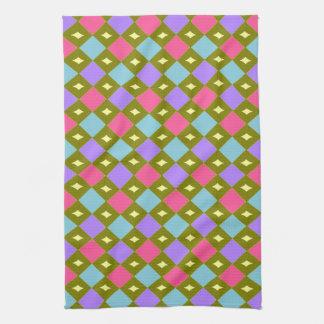 Multicolour Honeycomb You Create Kitchen Towel