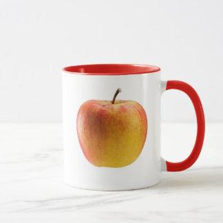 Multicoloured apple mug