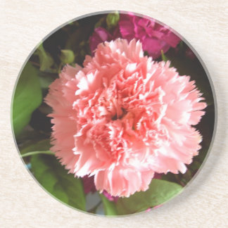 Multicoloured Flower Design Drink Coasters