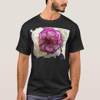 Multicoloured Flower Design T-Shirt
