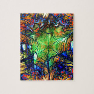 Multicoloured Fractal Jigsaw Puzzle