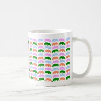 Multicoloured Hogs Mug