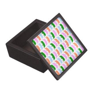 Multicoloured Hogs Pink Blue Green Orange Premium Gift Box