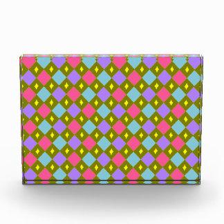 Multicoloured Honeycomb Create Your Own Decoration Acrylic Award