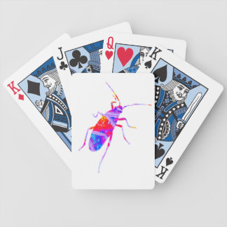 Multicoloured Leaf Bug Playing Cards