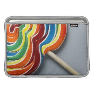 Multicoloured lollipop sleeve for MacBook air