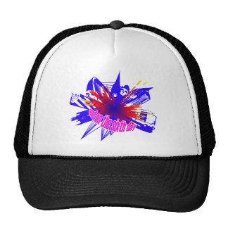 Multicoloured Manchester explosion Trucker Hat