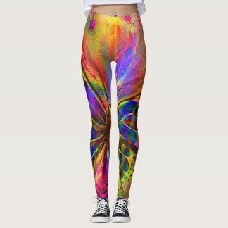 Multicoloured Mariosa leggings