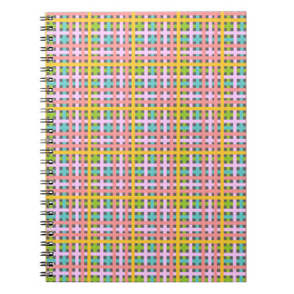 Multicoloured Plaids notebook