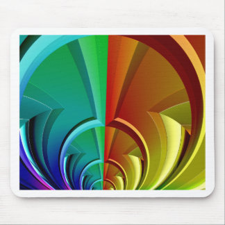 multicoloured symmetry created by Tutti Mouse Pad