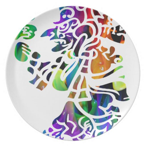MULTICOR MAYAN PRODUCTS PARTY PLATES
