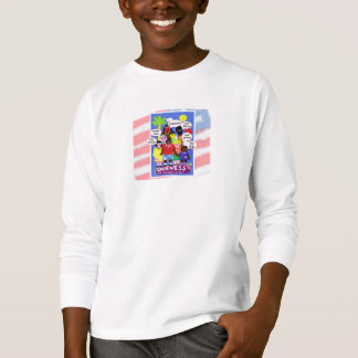 Multicultural American Flag T-shirt