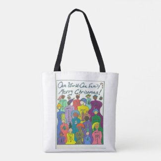 Multicultural Christmas Tote