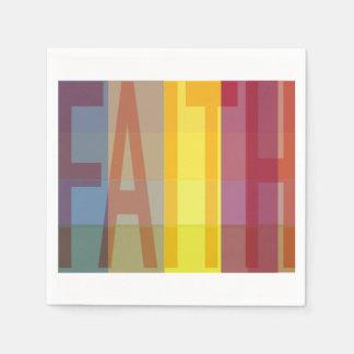 Multicultural Faith Napkin