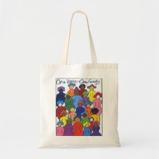 Multicultural Gifts Budget Tote Bag
