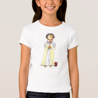 Multicultural Snow White girl's t-shirt