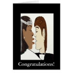 Multicultural wedding Card