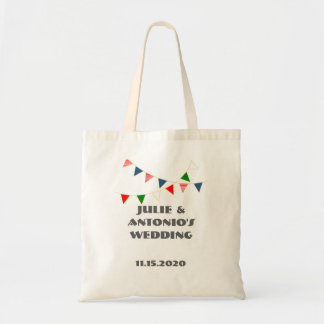 Multicultural Wedding Mexico Bunting Gift Bag