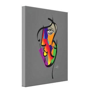 Multicultural Woman Canvas Print
