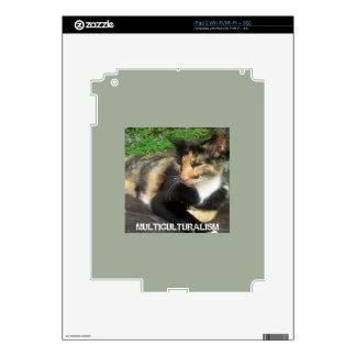 Multiculturalism Cat iPad 2 Skins