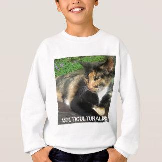 Multiculturalism Cat Sweatshirt