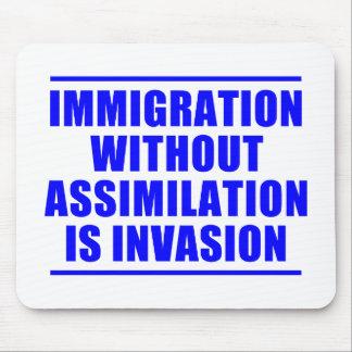 Multiculturalismo de la asimilación no tapete de ratones