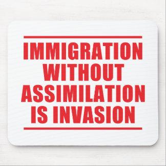 Multiculturalismo de la asimilación no mousepads