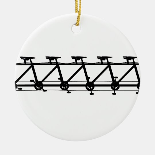 Multicycle Ceramic Ornament