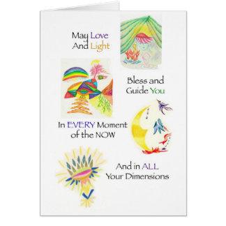 Multidimensional Blessing Card