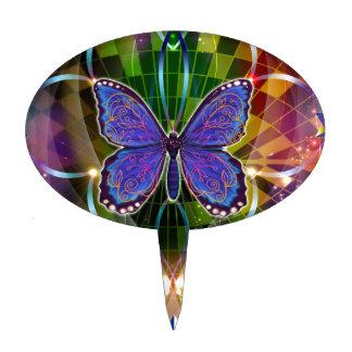 Multidimensional Transformation - Sacred Geometry Cake Topper