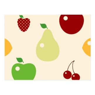 Multifruits Tarjeta Postal