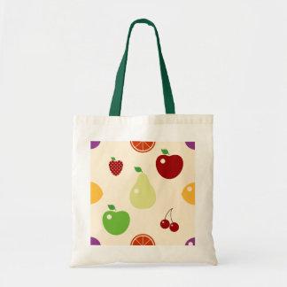 Multifruits Tote Bag