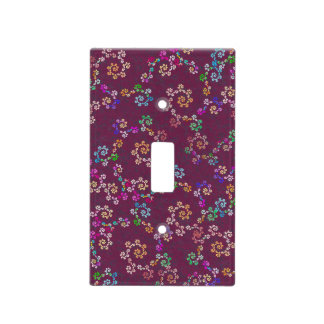 multihue spirals light switch covers