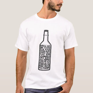 Multilingual Beer T-shirt