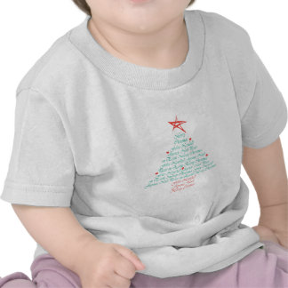 Multilingual Merry Christmas! T-shirts