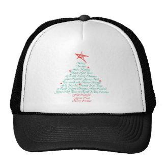 Multilingual Merry Christmas! Trucker Hat