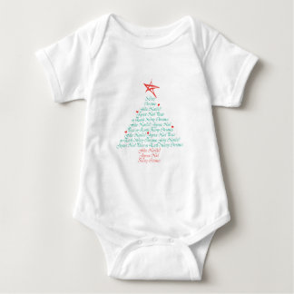 Multilingual Merry Christmas! Infant Creeper
