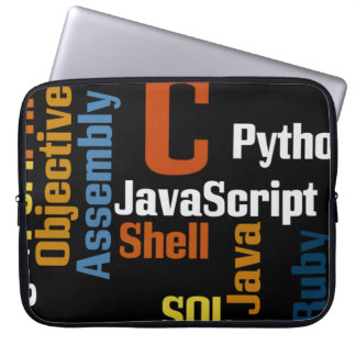 "Multilingual Programmer 15"" Laptop Sleeve"