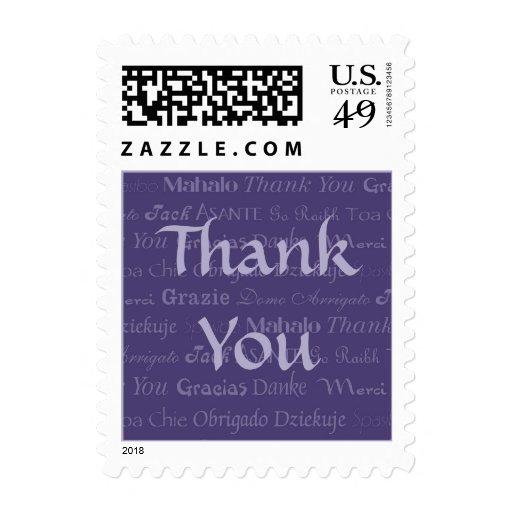 Multilingüe gracias sello