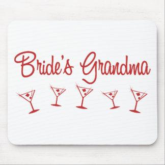 MultiMartini-BridesGrandma-Red Mouse Pad