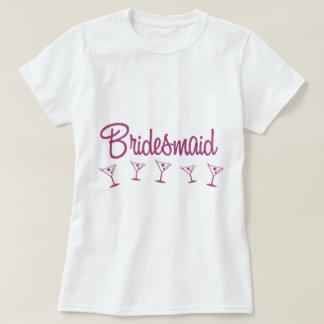 MultiMartini-Bridesmaid-Pink T Shirt