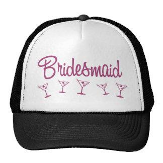 MultiMartini-Bridesmaid-Pink Trucker Hat