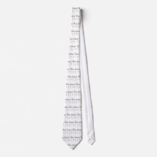 MultiMartini-GroomsMom-grey Neck Tie