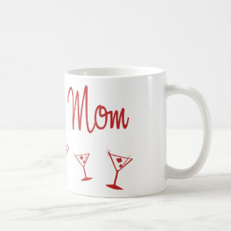 MultiMartini-GroomsMom-Red Mugs