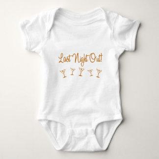 MultiMartini-LastNightOut-Orng Baby Bodysuit