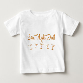 MultiMartini-LastNightOut-Orng Baby T-Shirt
